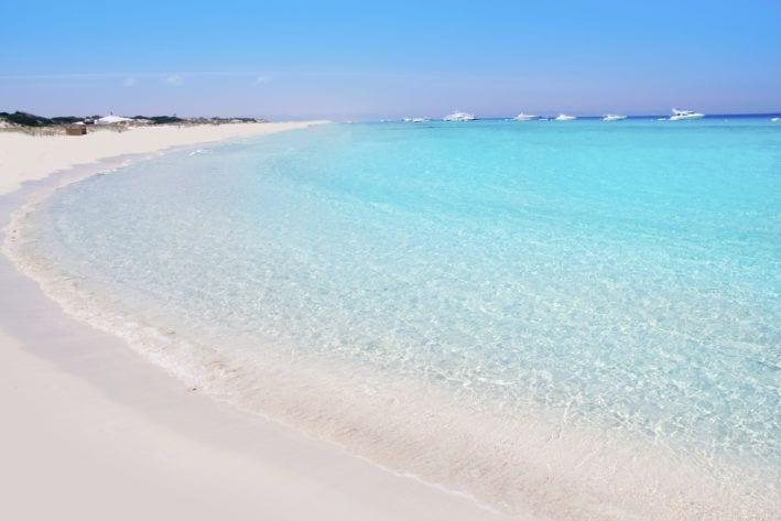 Playa de ses lletes Formentara