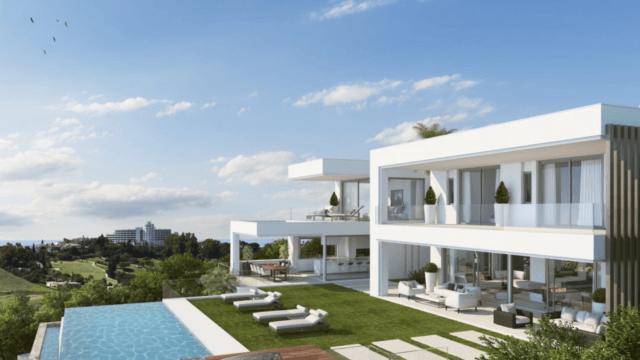 Benahavis new modern villa for sale