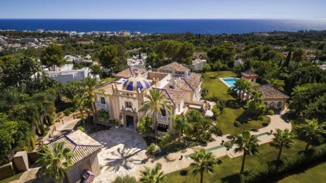 Golden Mile Palatial Mansion for sale in gated community