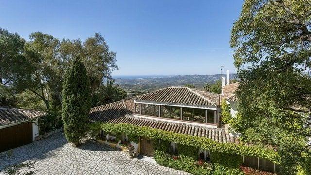 Reduced – Mijas finca on 35000m2 plot with panoramic views