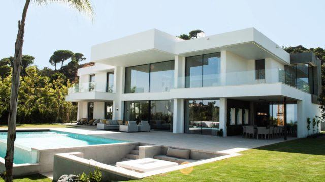 SOLD El Madronal new Modern villa for sale