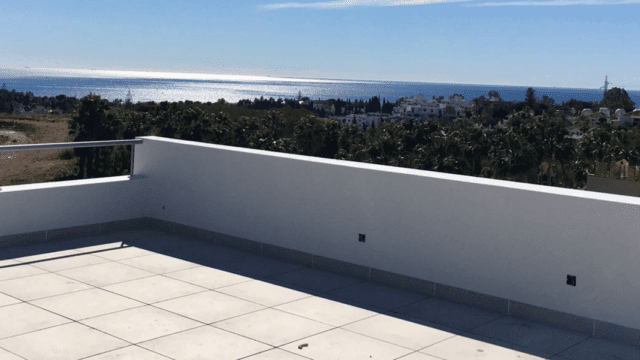 Golden Mile new modern villa with sea views
