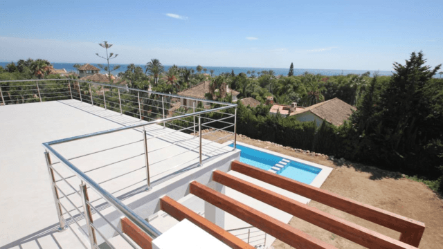 Marbella East newly reformed villa with sea views