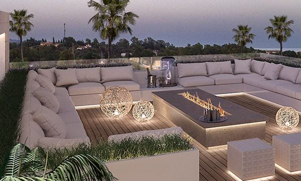 Golden Mile Marbella modern off-plan Apartments for sale