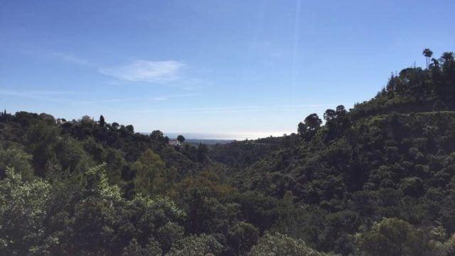 El Madronal villa for sale with sea views