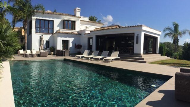 Nueva Andalucia.Quality villa for sale in gated community near facilities