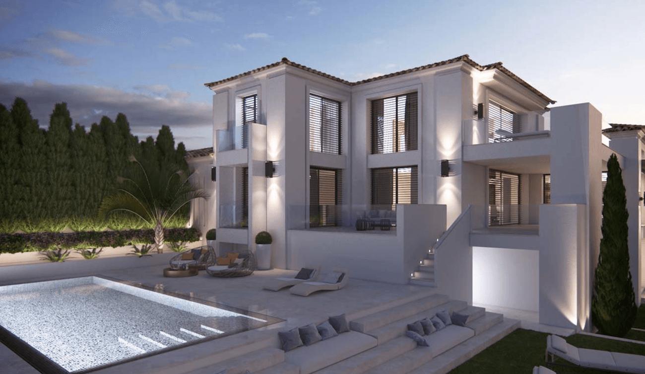 Madronal nouvelle villa moderne vendre d but de la fin for Villas 2018