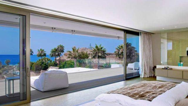 Marbella East -Contemporary Villa for sale.Sea views & gated Community