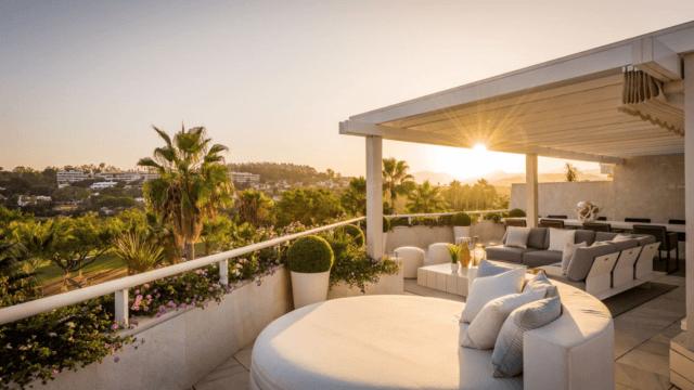 Nueva Andalucia Penthouse Frontline Golf 236 m2 Interior – 273 m2 Terraces