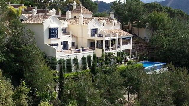 SOLD – EL MADROÑAL villa with Sea views now €2,6m was €4m