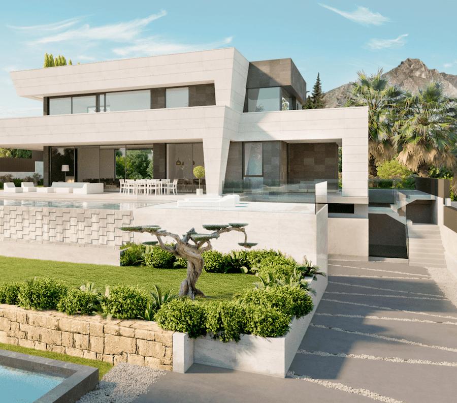 Golden Mile 2 New Modern Villas For Sale In Gated Community - Villa-in-sardinia-by-antonio-lupi