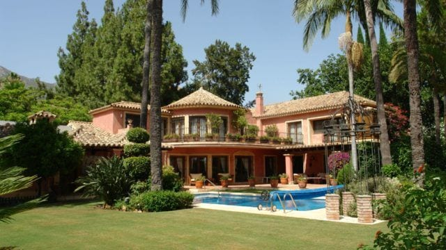 Golden Mile hillside Classic Mansion for sale