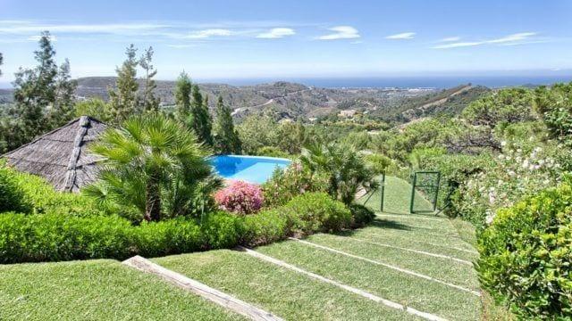 Marbella Club Golf Resort villa with seaviews for sale