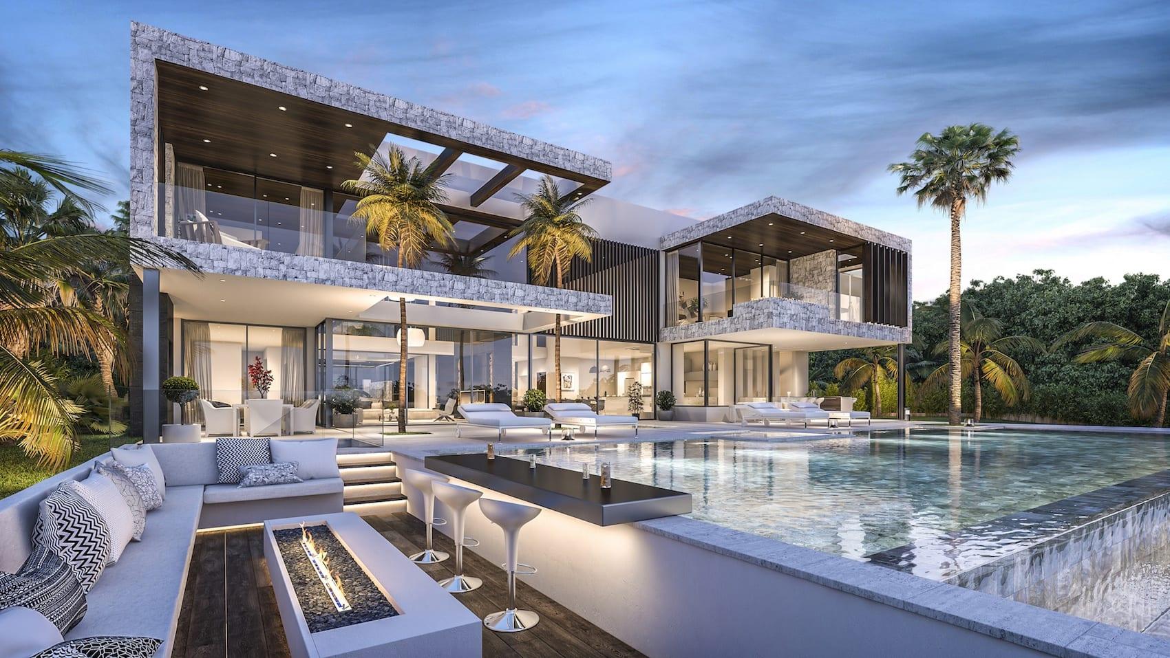 Benahavis moderne villa bereit 10 monate for Villas 2018