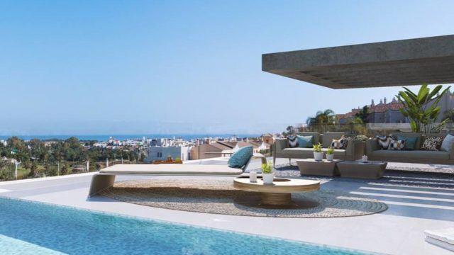 New Golden Mile Estepona modern Apts & Penthouses for sale