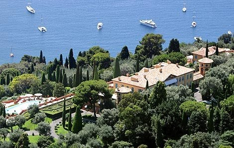 Villa Leopolda, located in Villefranche-sur-Mer.Priceless