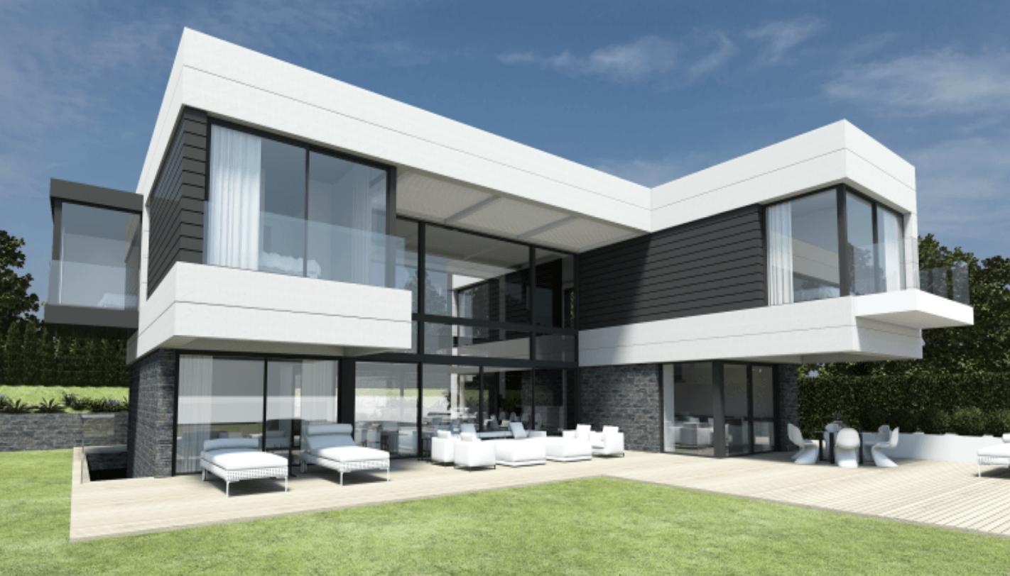 Benahavis new modern villa ready autumn 2018 for Villas 2018