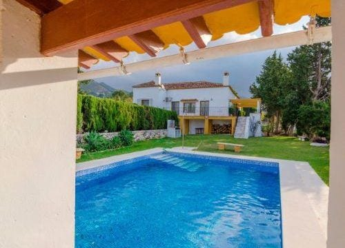 Mijas finca with 18000m2 plot, build more villas half price