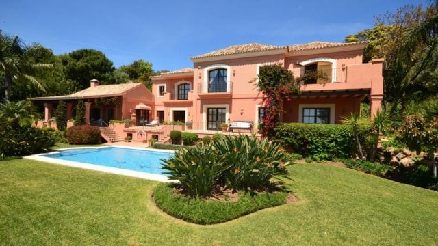 La Zagaleta classic villa with Sea views
