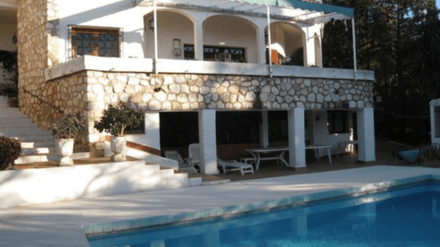 Bargain Mijas Costa 5bed bungalow with Tennis court