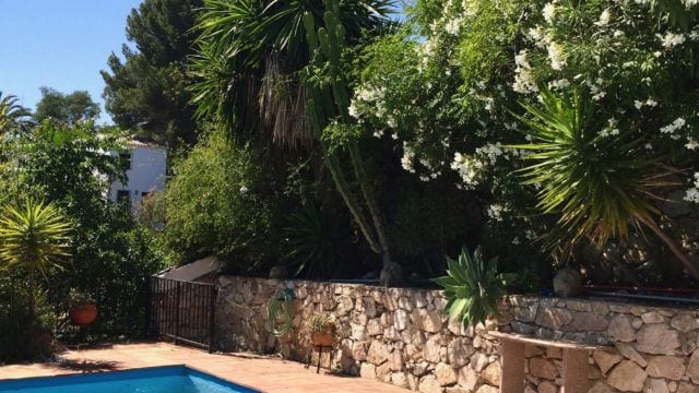 Mijas finca for sale with guest villa 2300m2 plot