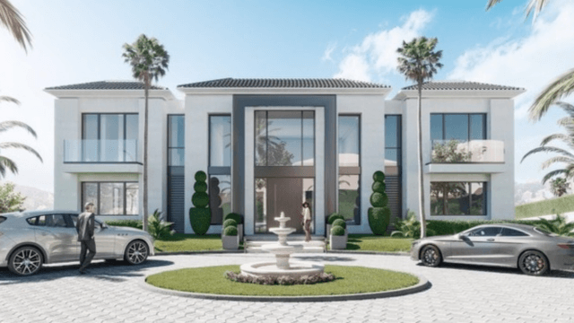 Benahavis Modern villa in a gated community Golf & Sea views