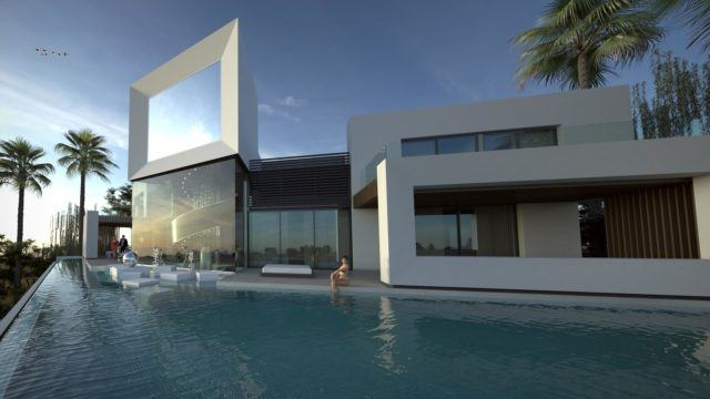Marbella East- Modern villa with Sea views for sale (ready 2019)