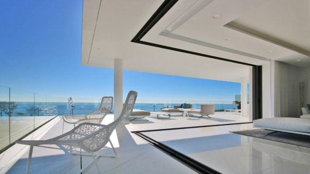 Puerto Banus 10min, luxury beachfront development with Sea views for sale.