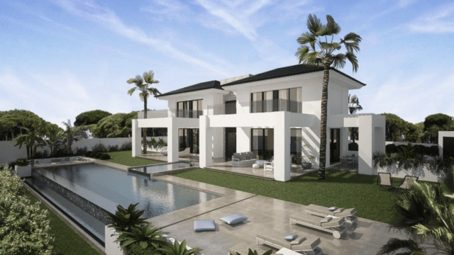 Benahavis Modern villa in gated community ready summer 2019