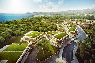 Mijas Costa Modern development with Sea views 3/4 bedrooms