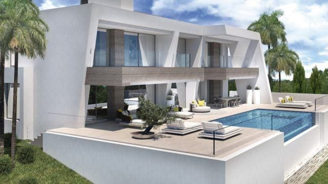 Benahavis new Contemporary style villas with Panoramic views