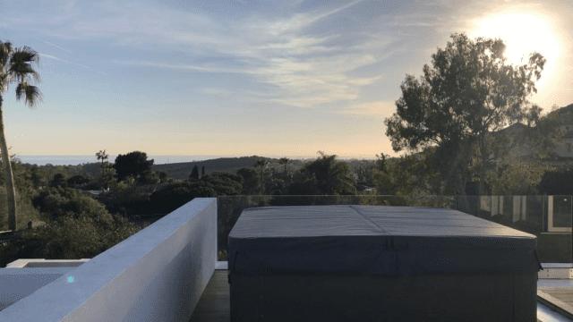 SOLD – Benahavís New Modern Villa In Gated Community