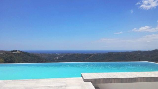Reduced – Benahavis 7 bedroom modern villa with Sea views