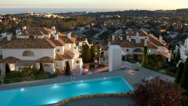 Nueva Andalucia Penthouses and Apartments with Panoramic views