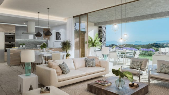 Benahavis Offplan 2/3 bedrooms Apts & Penthouses for sale.Gated community,Coast & Sea views