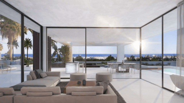 New Golden Mile modern offplan villas with sea views from 985.000 euros