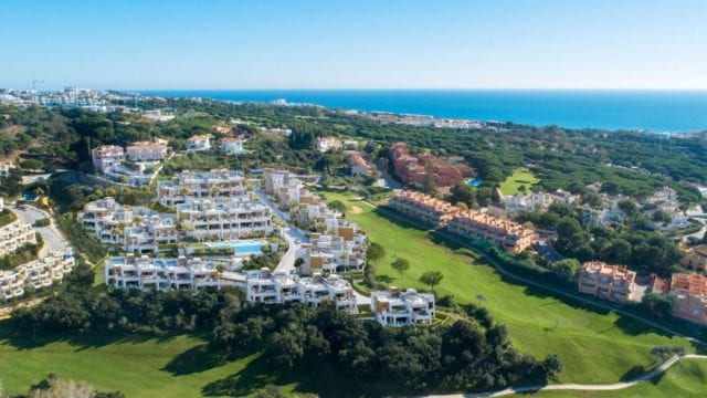 Marbella East new off plan Apts. near Beach ready 3rd quarter 2021.