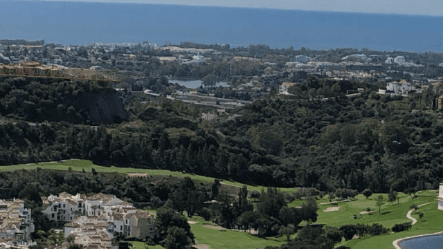Benahavis prime location Sea view plot for sale