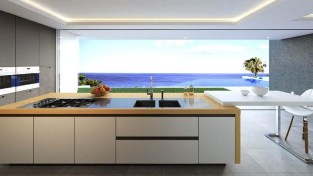 Estepona Modern Sea view villa for sale