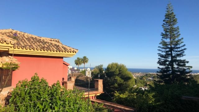 SOLD Benahavis villa with Sea views to reform
