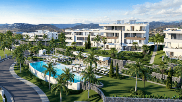 Marbella East off plan development on 120,000m2 Plot
