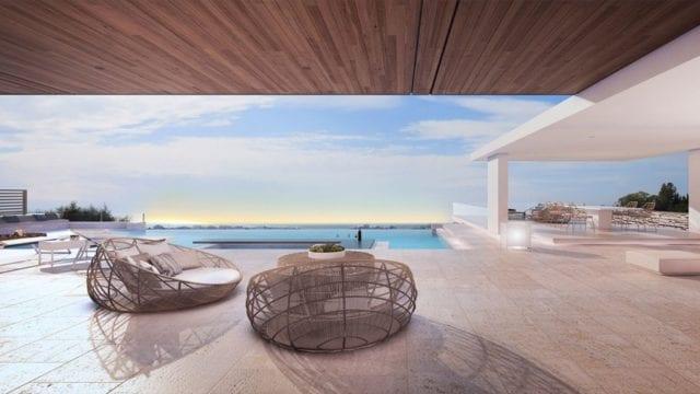 Benahavis off plan villa.Panoramic Coast & Sea views.