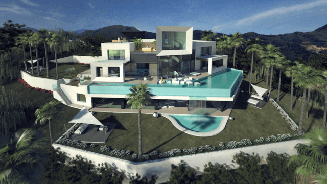Marbella East- Modern villa with Sea views for sale (ready end of 2019)