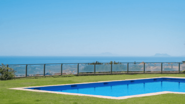 Benahavis secure hilltop Mansion with panoramic views
