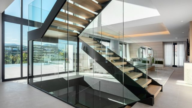 Estepona new Contemporary style villas with Panoramic views