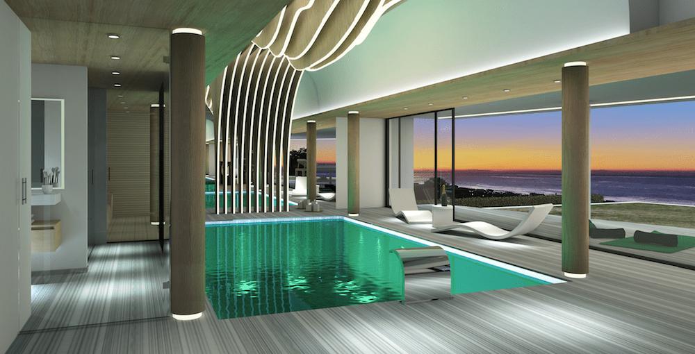 Marbella est villa moderne avec vue sur la mer vendre for Ville super moderne