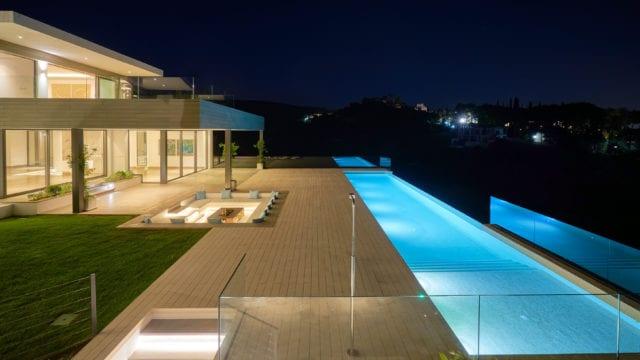 Benahavis new modern villa for sale 1st line Golf & Sea views