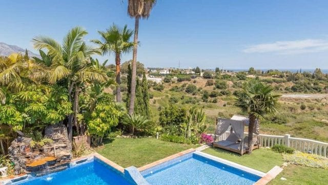 SOLD Benahavis bargain villa with sea views in gated community – urgent sale!