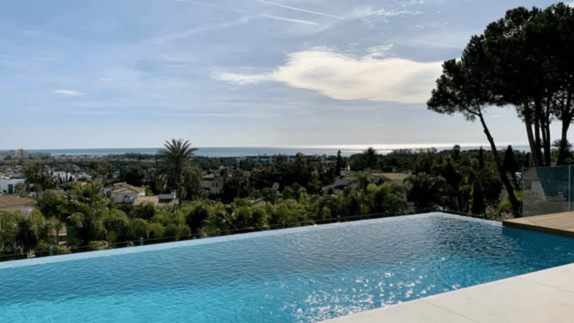 El Paraiso modern villa with Sea views for sale ready 2020