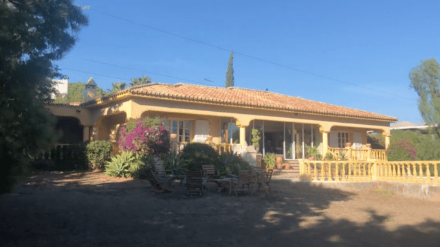 New Golden Mile Estepona villa for sale with Sea views